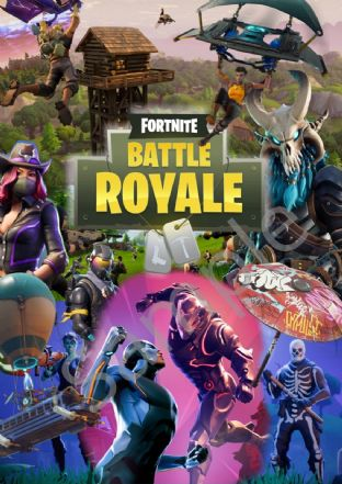 Large FORTNITE GAME POSTER A2